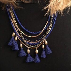 Stella & Dot Tatum Tassel Necklace